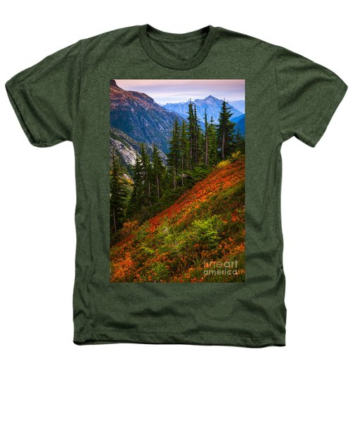 Sahale Arm Heathers T-Shirt by Inge Johnsson