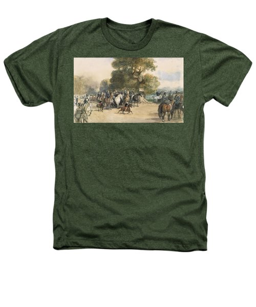 Scene In Hyde Park Heathers T-Shirt by Eugene-Louis Lami