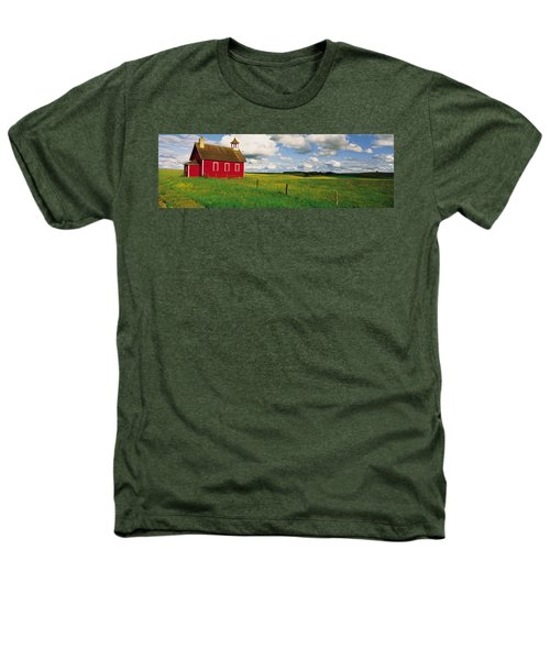 Small Red Schoolhouse, Battle Lake Heathers T-Shirt