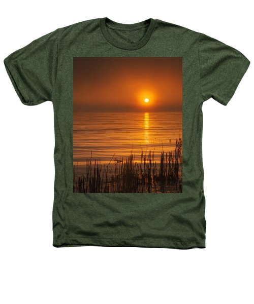Sunrise Through The Fog Heathers T-Shirt by Scott Norris