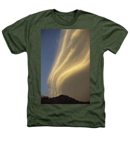 Sunset On Storm Clouds Near Mt Cook Heathers T-Shirt by Ian Whitehouse