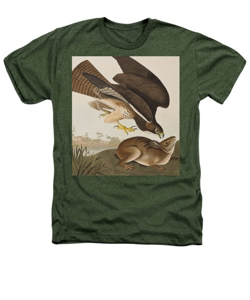 The Common Buzzard Heathers T-Shirt by John James Audubon