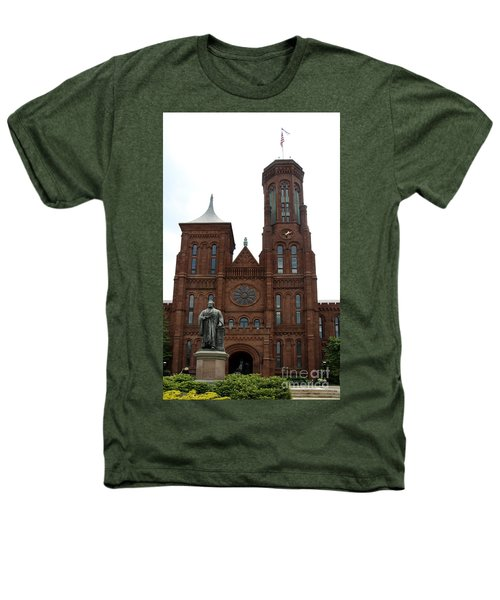 The Smithsonian - Washington Dc Heathers T-Shirt by Christiane Schulze Art And Photography