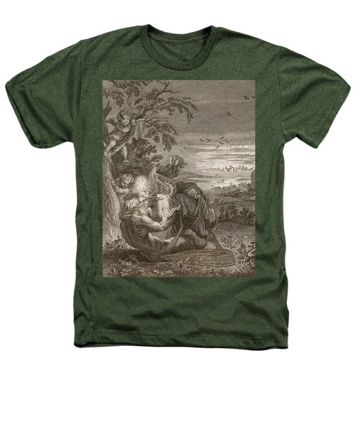 Tithonus, Auroras Husband, Turned Into A Grasshopper Heathers T-Shirt by Bernard Picart