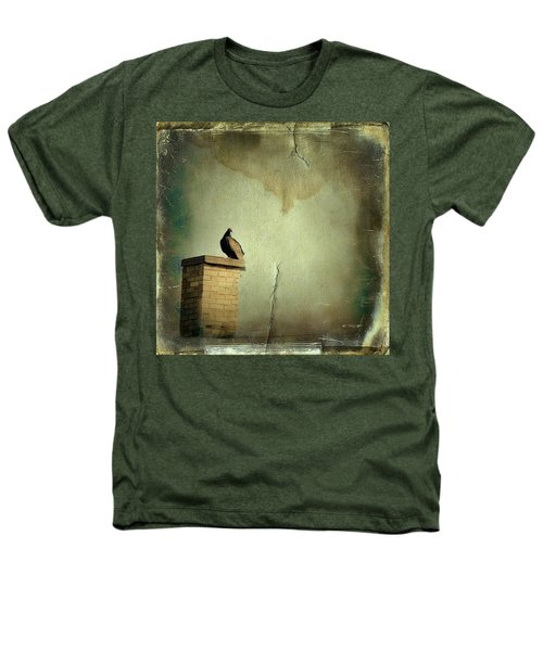 Turkey Vulture Heathers T-Shirt by Gothicrow Images