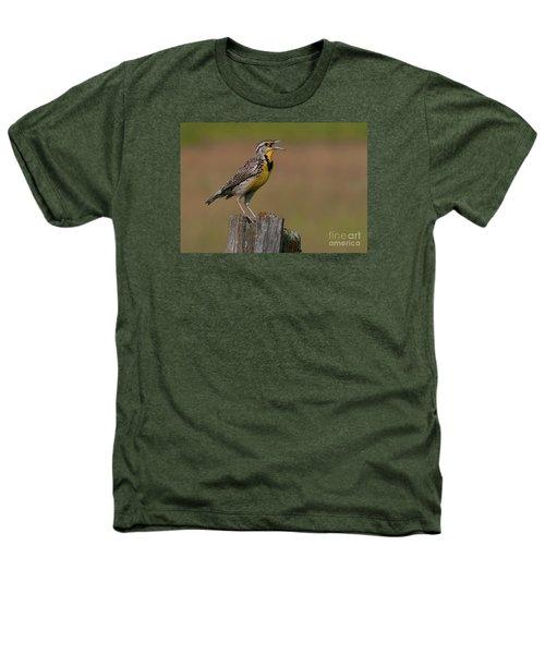 Western Meadowlark.. Heathers T-Shirt by Nina Stavlund