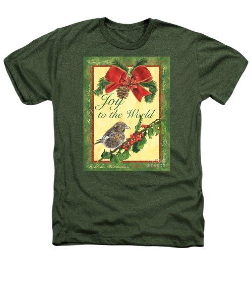 Xmas Around The World 2 Heathers T-Shirt by Debbie DeWitt