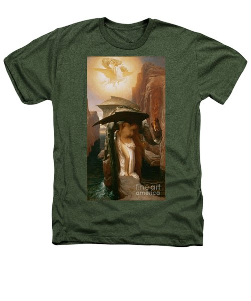 Perseus And Andromeda Heathers T-Shirt by Frederic Leighton