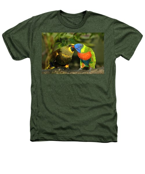 Kissing Birds Heathers T-Shirt