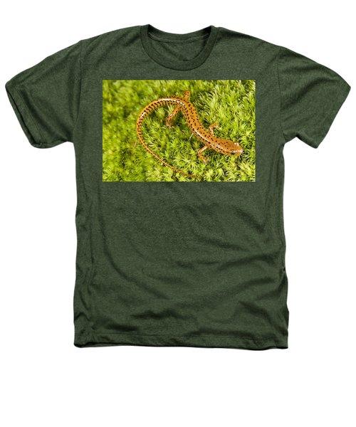 Longtail Salamander Eurycea Longicauda Heathers T-Shirt by Jack Goldfarb