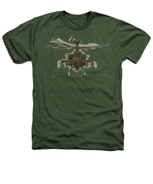 Apache Helicopter Heathers T-Shirt by Roy Pedersen