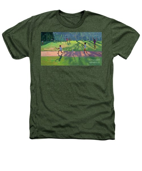 Cricket Sri Lanka Heathers T-Shirt by Andrew Macara