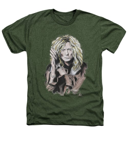 David Coverdale Heathers T-Shirt by Melanie D