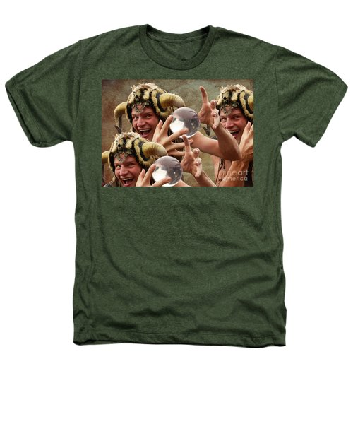 Magic Man Heathers T-Shirt by Bob Christopher