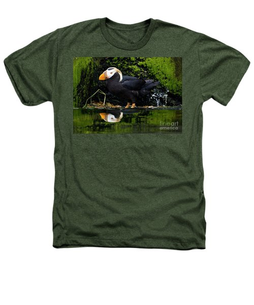 Puffin Reflected Heathers T-Shirt