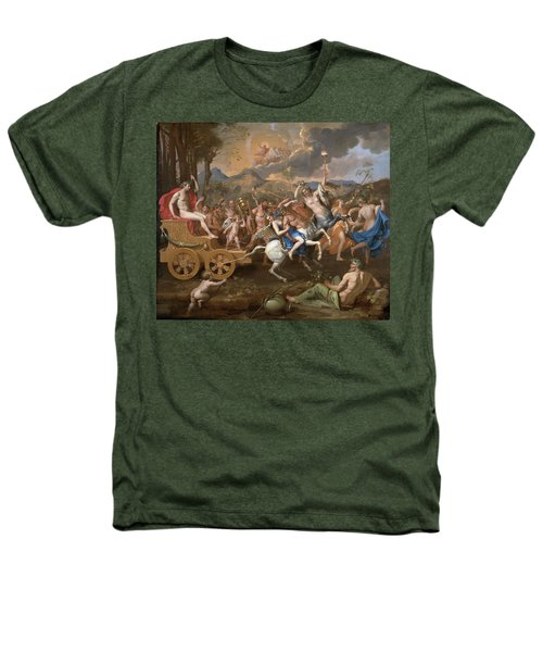 The Triumph Of Bacchus Heathers T-Shirt by Nicolas Poussin