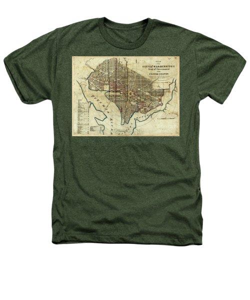 1822 Map Of Washington Dc Heathers T-Shirt