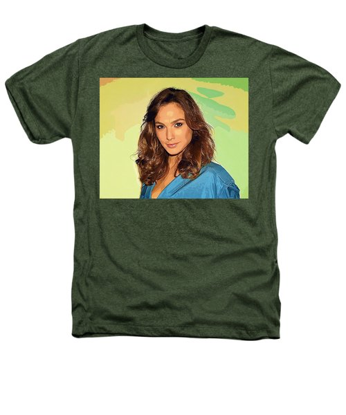 Gal Gadot Art Heathers T-Shirt by Best Actors