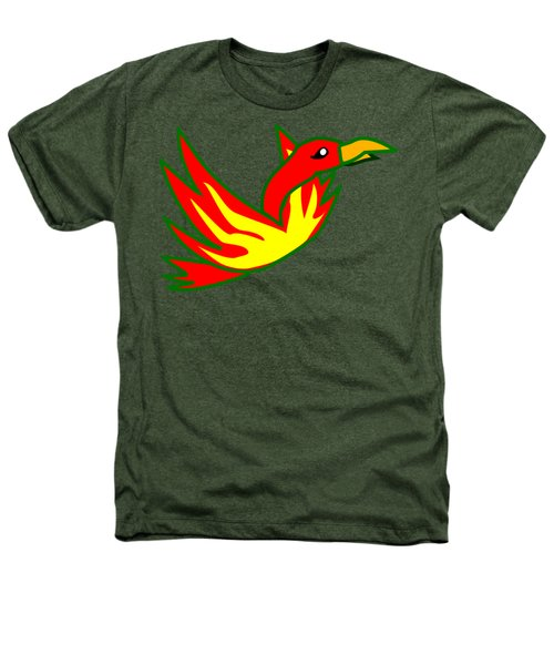 Phoenix Heathers T-Shirt by Frederick Holiday