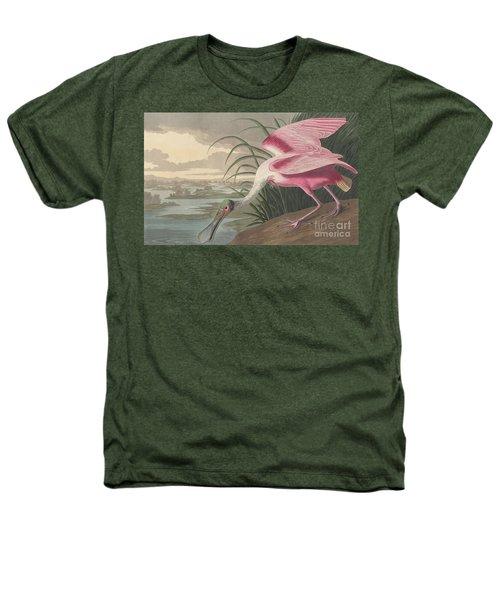 Roseate Spoonbill Heathers T-Shirt
