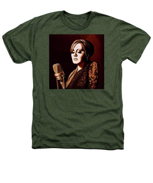 Adele Skyfall Gold Heathers T-Shirt by Paul Meijering