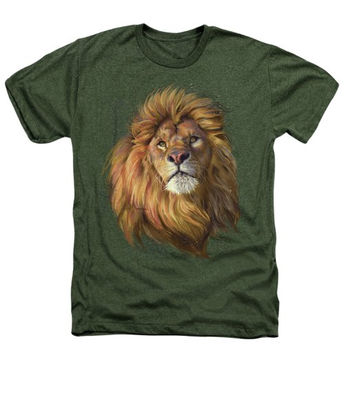 African Lion Heathers T-Shirt