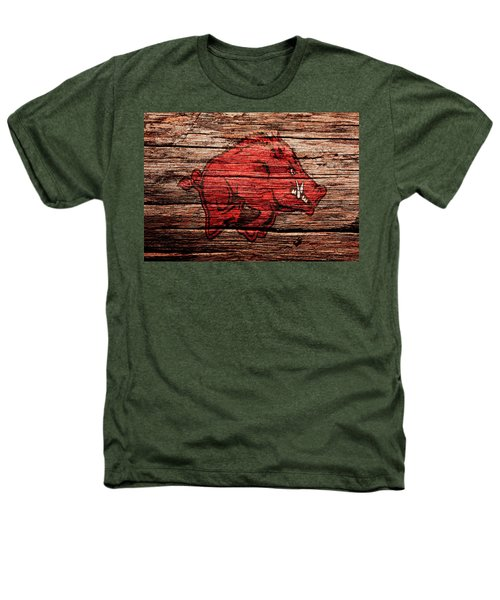 Arkansas Razorbacks 1a Heathers T-Shirt by Brian Reaves