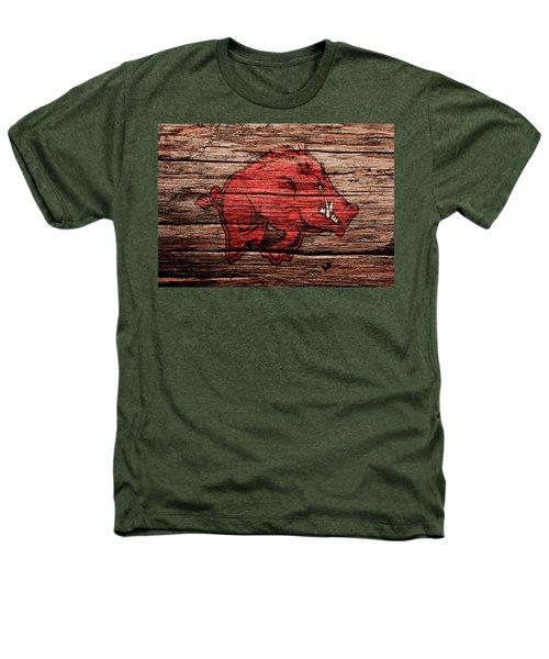 Arkansas Razorbacks Heathers T-Shirt by Brian Reaves