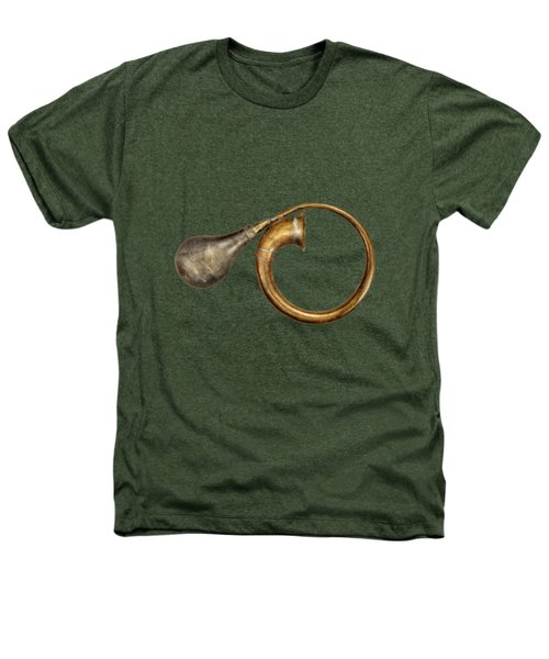 Antique Brass Car Horn Heathers T-Shirt by YoPedro