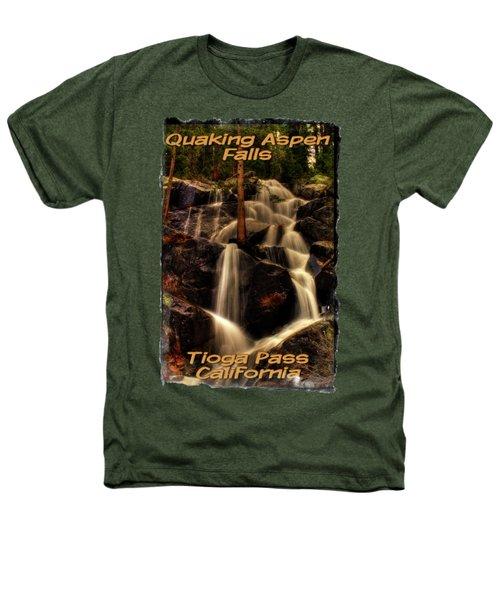 Quaking Aspen Falls Along Tioga Pass  Heathers T-Shirt by Roger Passman