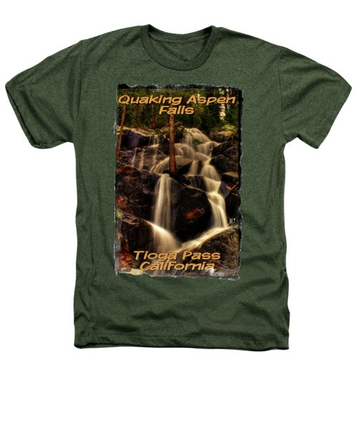 Quaking Aspen Falls Along Tioga Pass  Heathers T-Shirt