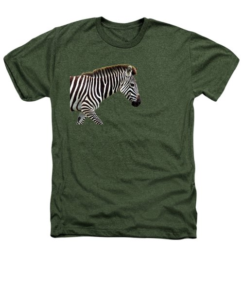 Zebra Heathers T-Shirt by Aidan Moran