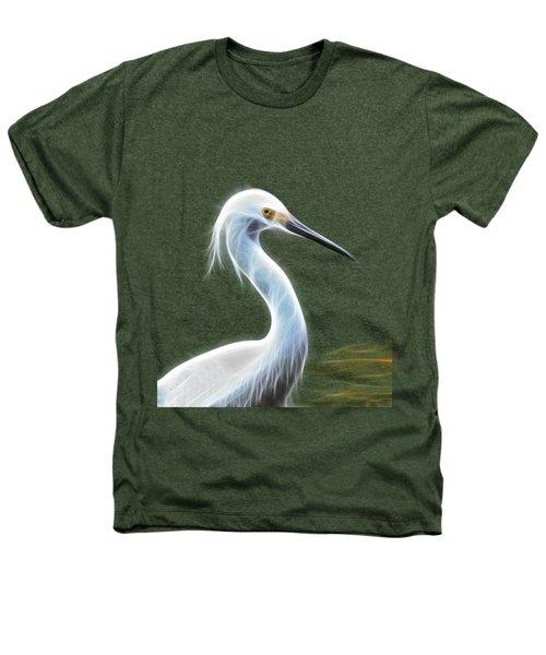 Snow Egret Heathers T-Shirt