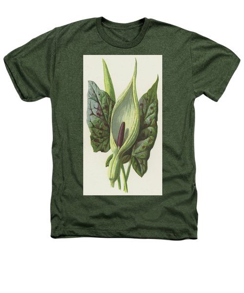 Arum, Cuckoo Pint Heathers T-Shirt by Frederick Edward Hulme