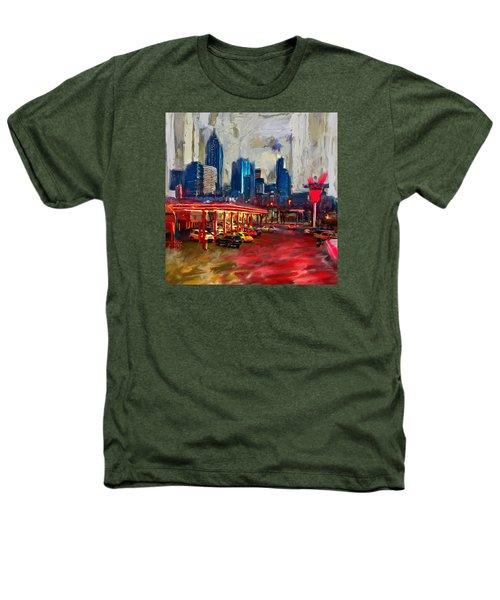 Atlanta Skyline 231 1 Heathers T-Shirt by Mawra Tahreem