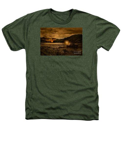Attack At Nightfall Heathers T-Shirt by Amanda Elwell