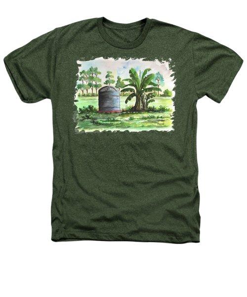 Banana And Tank Heathers T-Shirt by Anthony Mwangi