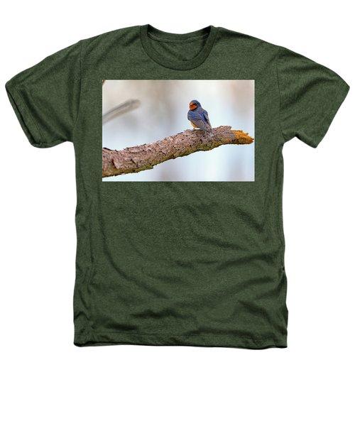 Barn Swallow On Assateague Island Heathers T-Shirt