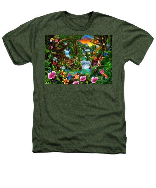 Beautiful Rainforest Heathers T-Shirt