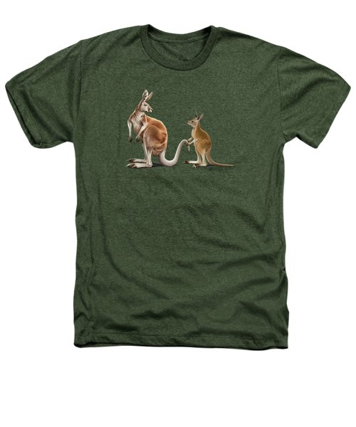 Being Tailed Wordless Heathers T-Shirt by Rob Snow