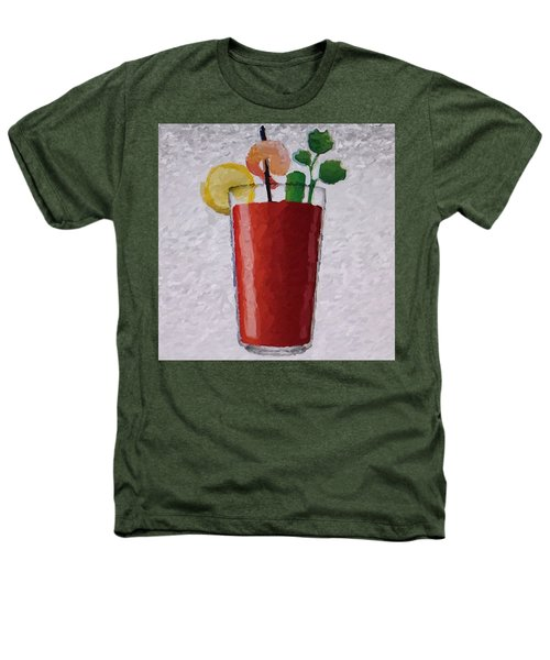 Bloody Mary Emoji Heathers T-Shirt by  Judy Bernier
