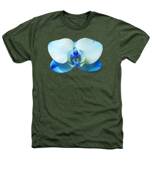 Blue Orchid 1 Heathers T-Shirt by Scott Carruthers