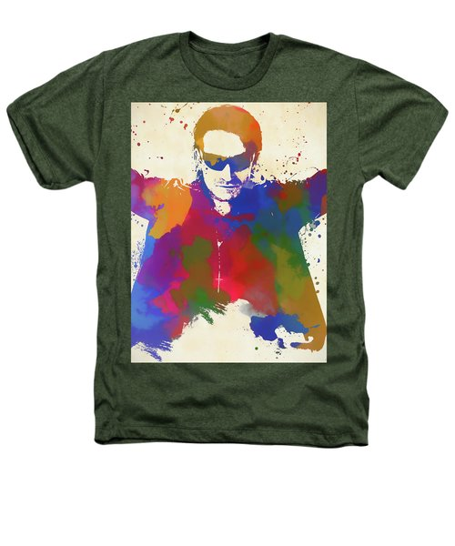 Bono Watercolor Heathers T-Shirt