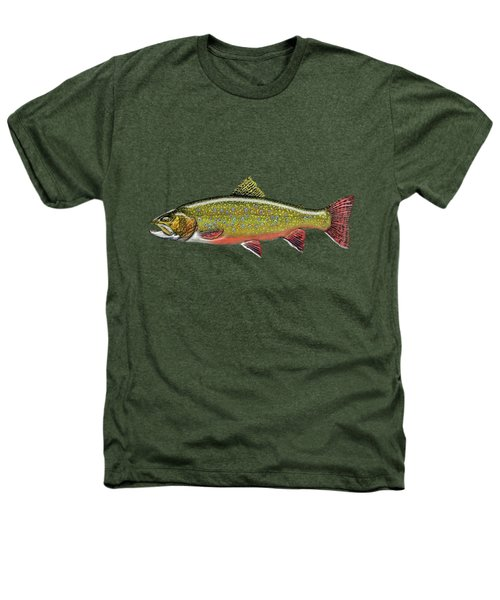 Brook Trout Heathers T-Shirt by Serge Averbukh