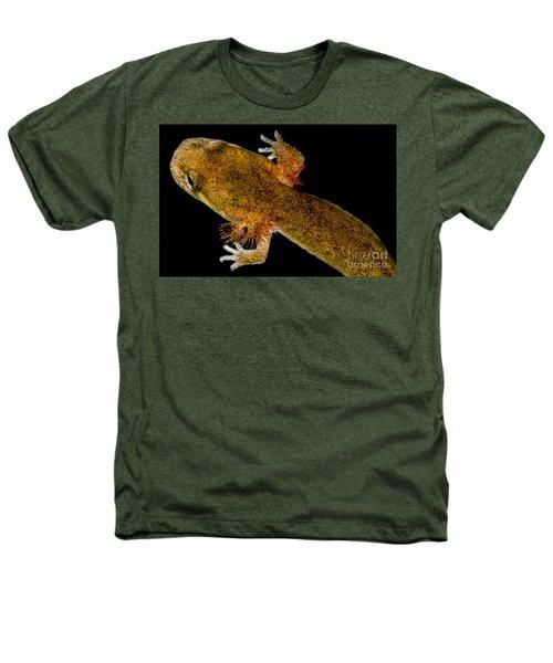 California Giant Salamander Larva Heathers T-Shirt by Dant� Fenolio