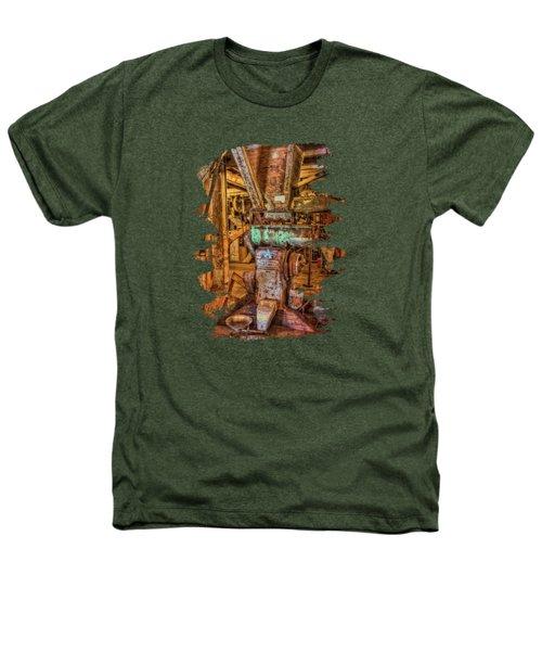 California Pellet Mill Co Heathers T-Shirt