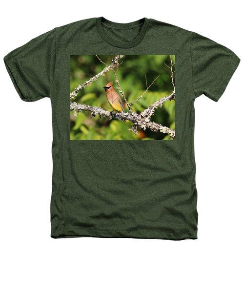 Cedar Waxwing  Heathers T-Shirt by Carol R Montoya