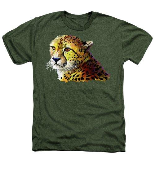Cheetah Heathers T-Shirt by Anthony Mwangi