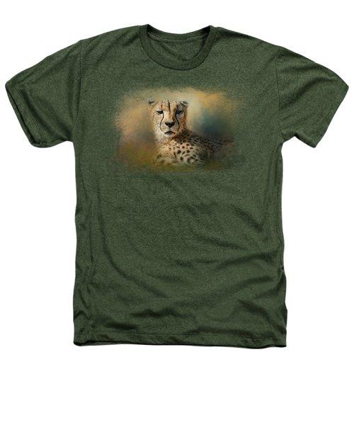 Cheetah Enjoying A Summer Day Heathers T-Shirt