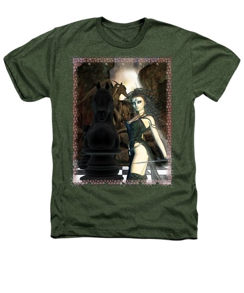 Chess 3d Fantasy Art Heathers T-Shirt by Sharon and Renee Lozen